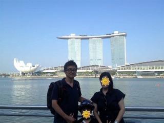 石田塾 実績 家族旅行 シンガポール