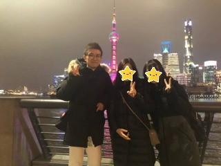 石田塾 実績 家族旅行 中国・上海